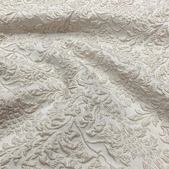 Lucia Jacquard Table Napkin in Ivory