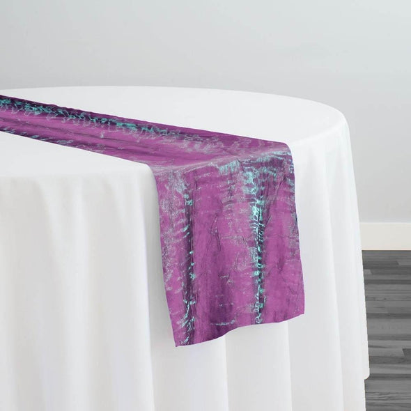 Crush Shimmer (Galaxy) Table Runner in Magenta 8