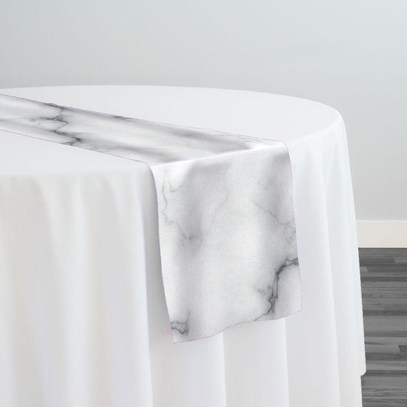 Marble (Poly Print) Table Runner