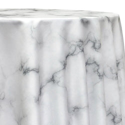 Marble Poly Print Table Linen