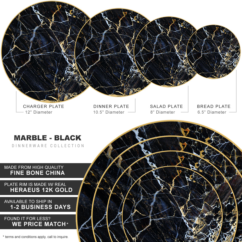 Marble Collection in Black