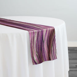 Allure Jacquard Table Runner in Mauve