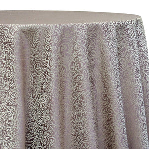 Miramar Jacquard Table Linen in Mauve