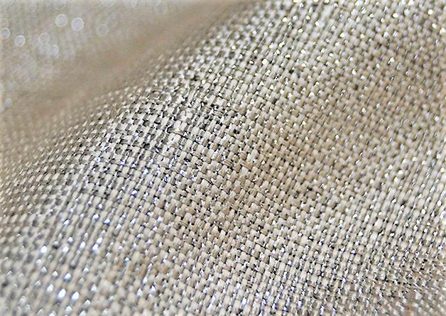Metallic Burlap - Fabric By The Yard