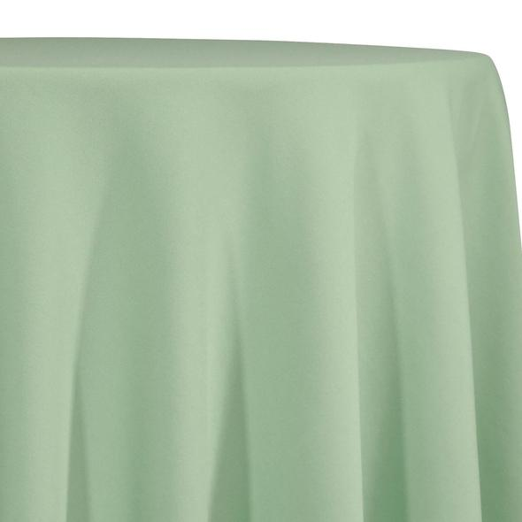 Mint Green Tablecloth in Polyester for Weddings