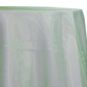 Crystal Organza Table Linen in Mint 600