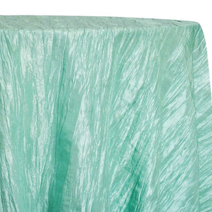 Accordion Taffeta Table Linen in Mint