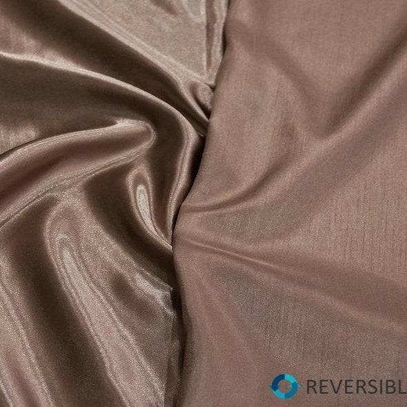 Shantung Satin Table Runner in Mocha