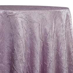 Crush Satin (Bichon) Table Linen in Mauve 055