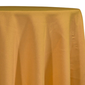 Premium Poly (Poplin) Table Linen in Mustard 1340