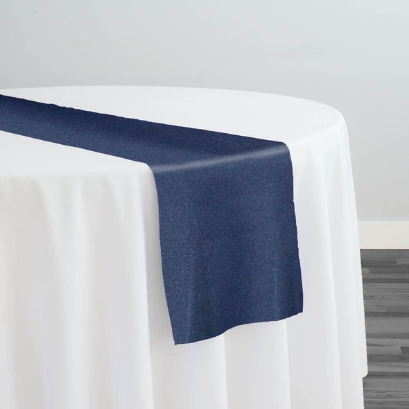 Premium Polyester (Poplin) Table Runner in Navy 1245