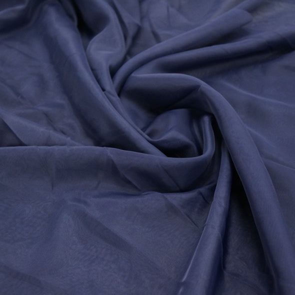 Voile Wholesale Fabric in Navy 1245