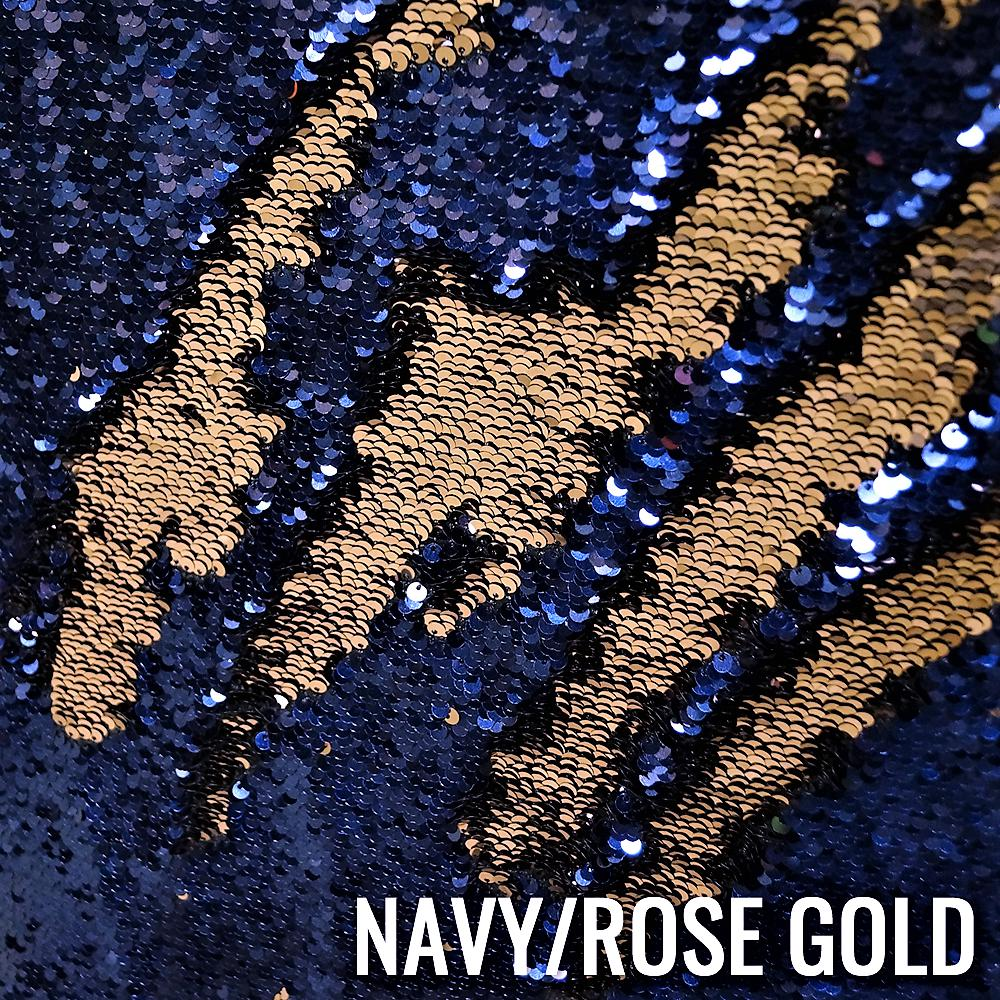 NAVY / ROSE GOLD