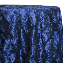Belly Button (Pinwheel) Table Linen in Navy