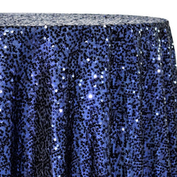 Taffeta Sequins Table Linen in Navy
