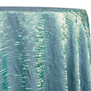 Crush Shimmer (Galaxy) Table Linen in New Aqua 35