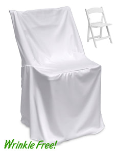 Premium Scuba (Wrinkle-Free) Resin Chair Cover