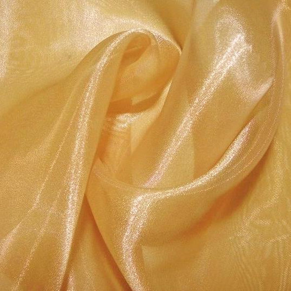 Crystal Organza Wholesale Fabric in Gold 902