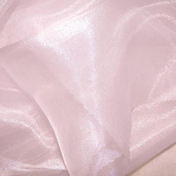 Crystal Organza Table Linen in Pink 509