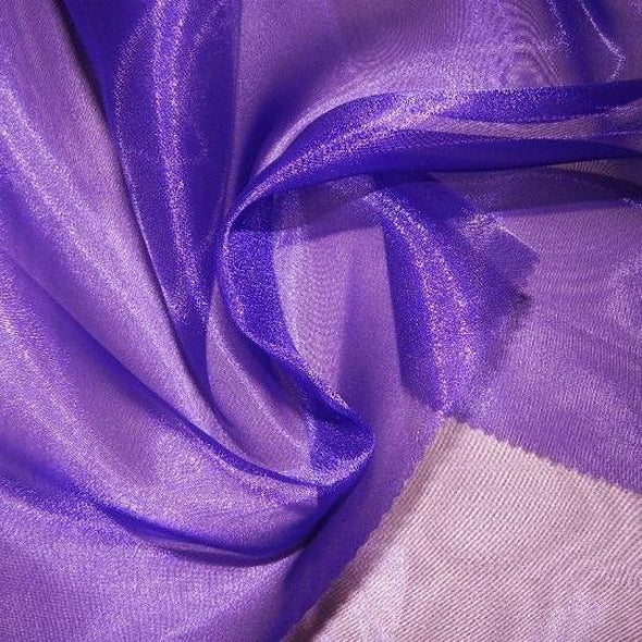 Crystal Organza Wholesale Fabric in Purple 658