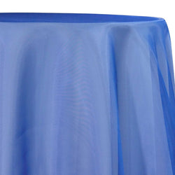 Crystal Organza Table Linen in Ocean Blue 927