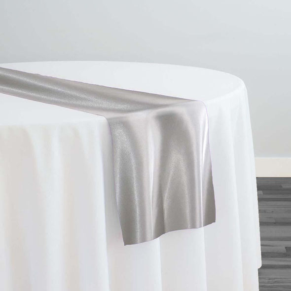 Bridal Satin Table Runner in Off White 105