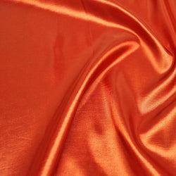 Taffeta (Solid) Table Napkin in Orange 018