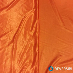 Shantung (Satin) Table Napkin in Orange