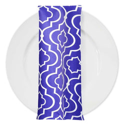 Gatsby Print (Lamour) Table Napkin in Purple