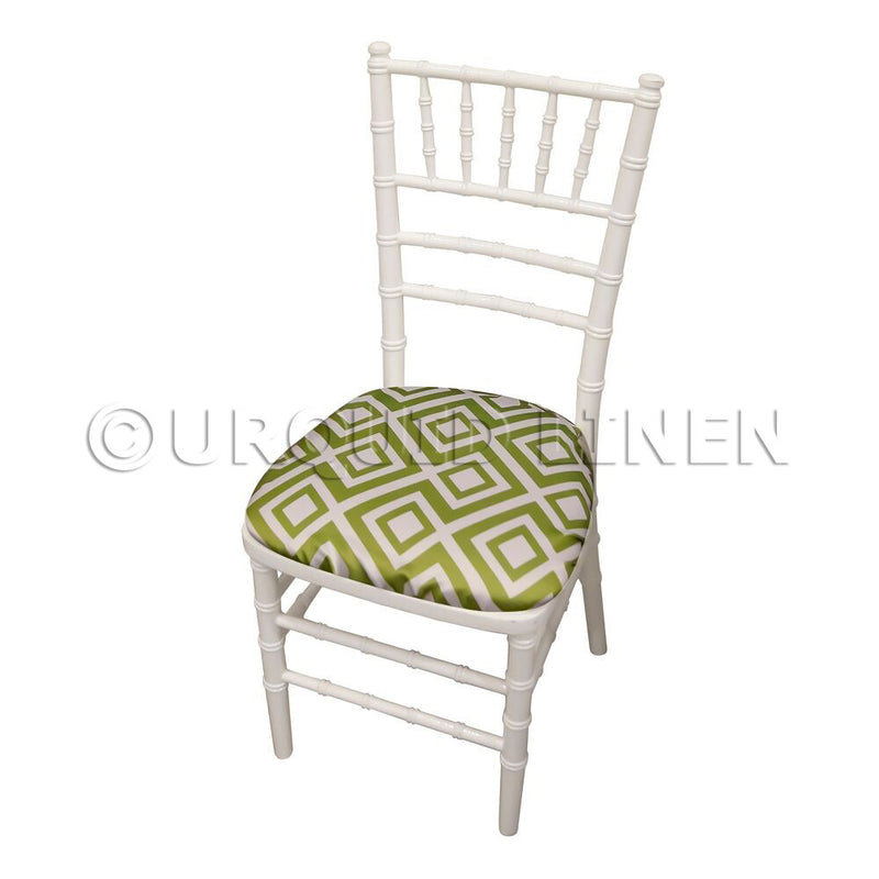 Paragon Print (Lamour) Chair Pad Cover