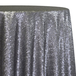 Glitz Sequins Table Linen in Pewter