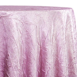 Crush Satin (Bichon) Table Linen in Pink 156