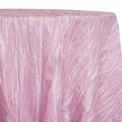 Accordion Taffeta Table Linen in Pink