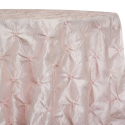 Belly Button (Pinwheel) Table Linen in Pink Petal