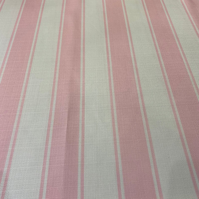 Cabana Stripe Table Napkin in Pink