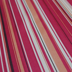 Multi-Color Stripe Table Napkin in Bubblegum