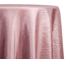 Shantung Satin (Reversible) Table Linen in Pink