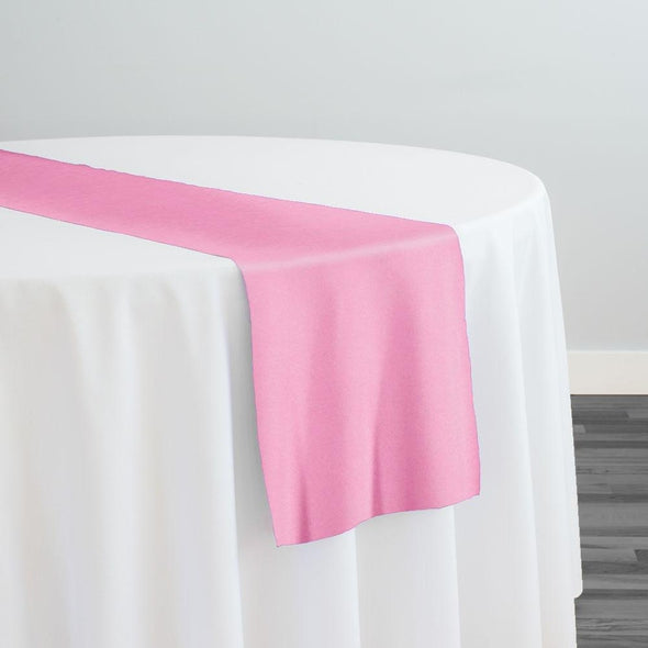 Premium Polyester (Poplin) Table Runner in Pink D 1157