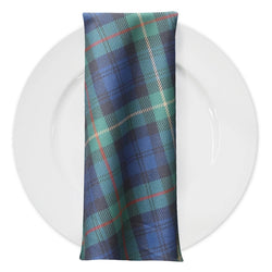 Plaid (Poly Print) Table Napkin in Green