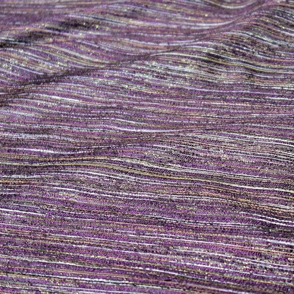 Sterling Jacquard Wholesale Fabric in Plum
