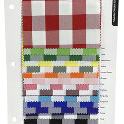 Polyester Checker (Gingham) Table Napkin in Turqouise