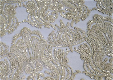Princess Lace - Fabric By The Yard