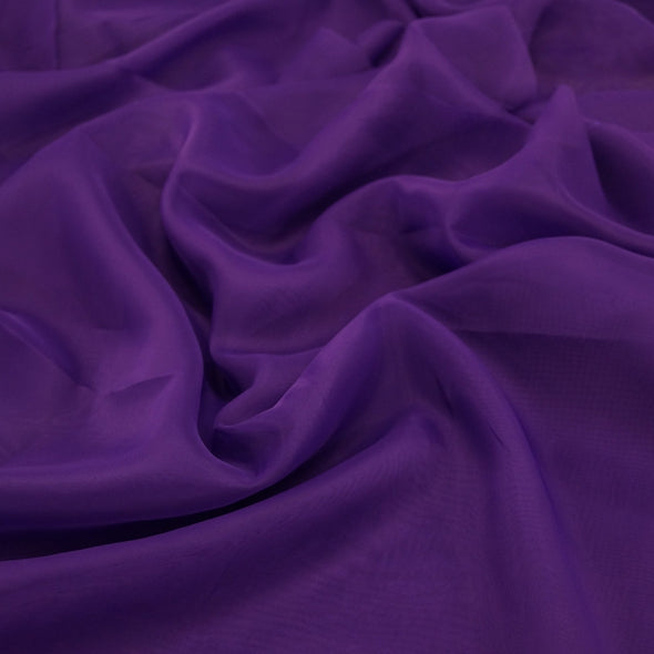 Voile Wholesale Fabric in Purple 1660