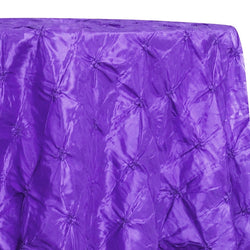 Belly Button (Pinwheel) Table Linen in Purple