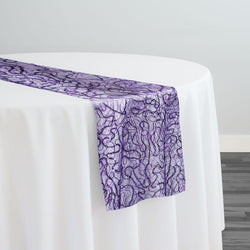 Bedazzle Table Runner in Purple