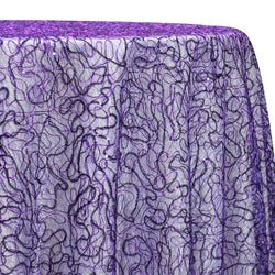 Bedazzle Table Linen in Purple
