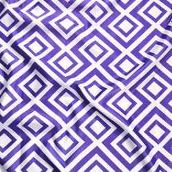 Paragon Print (Lamour) Table Linen in Purple