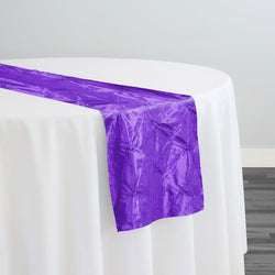 Belly Button (Pinwheel) Table Runner in Purple
