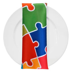 Puzzle (Poly Print) Table Napkins
