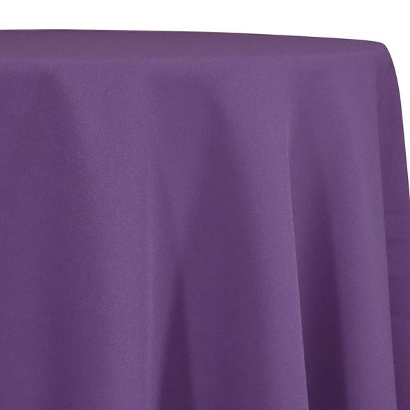 Plum Tablecloth in Polyester for Weddings